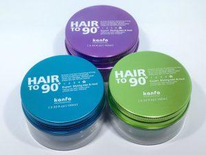 Sáp Vuốt Tóc Hair To 90 Kanfa 100ml (Sự kết hợp 2 trong 1)