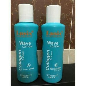 THUỐC UỐN LẠNH CAO CẤP COLLAGEN LUSIX – WAVE LOTION  550ML