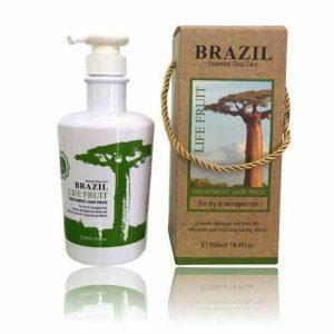 Kem keratin tươi Brazil thủy phân phục hồi 500ml