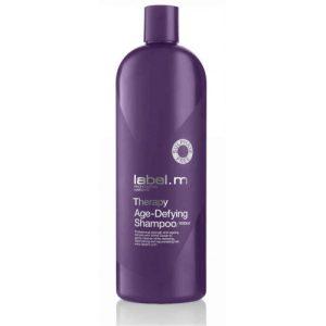 Dầu gội chống lão hóa tóc Label.m Therapy Age-Defying Shampoo 1000ml