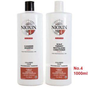 Cặp gội xã nioxin số 4 chống rụng mọc tóc 1000ml