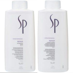 Dầu gội xã Wella SP Repair phục hồi tóc hư tổn (big size)