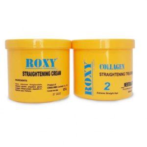 Kem duỗi tóc Collagen roxy cao cấp 600ml x 2