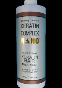 KEM KERATIN COMPLEX NANO SMOOTHING TREATMENT PHỤC HỒI LÀM THẲNG TÓC 1000ML