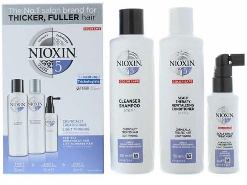 Kit Nioxin số 5 chống rụng kích thích mọc tóc