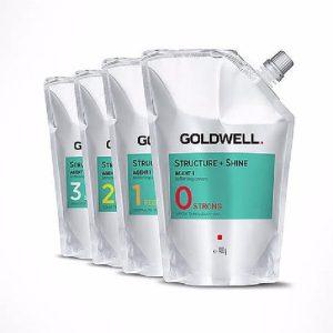 Thuốc duỗi tóc Goldwell Straight'n Shine 400ml x 2