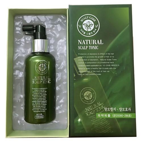 Xịt dưỡng hasuo natural scalp chống rụng mọc tóc 160ml