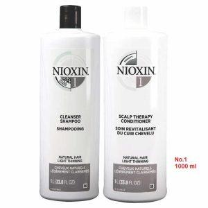 Cặp gội xã nioxin số 1 chống rụng mọc tóc 1000ml