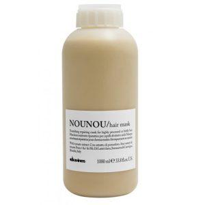 Mặt nạ Nounou davines chữa trị tóc hư 1000ml
