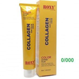Thuốc nhuộm 0/000 Collagen Roxy 100ml