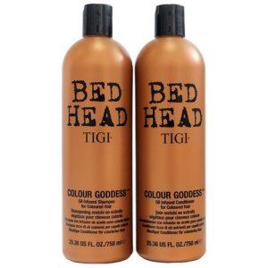 Gội xả nữ chúa màu nhuộm tigi bed head colour golddess 750ml