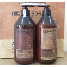 Gội xã haneda collagen phục hồi tóc yếu 500ml
