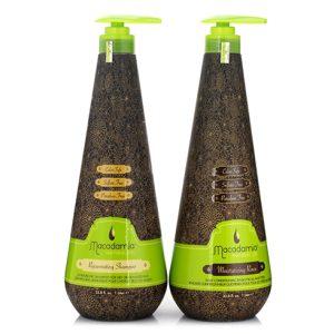 Gội xả Macadamia phục hồi tóc siêu mượt 1000ml