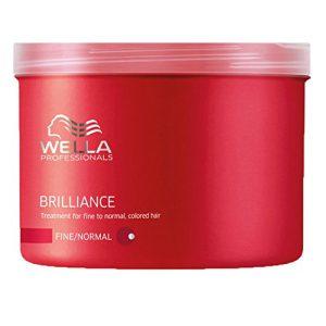 Hấp dầu wella brilliance bảo vệ tóc nhuộm 500ml