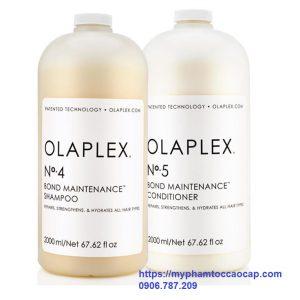 Dầu gội xả olaplex hàn gắn liên kết tóc 2000ml