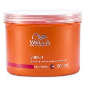 Dầu hấp wella enrich phục hồi tóc hư tổn 500ml