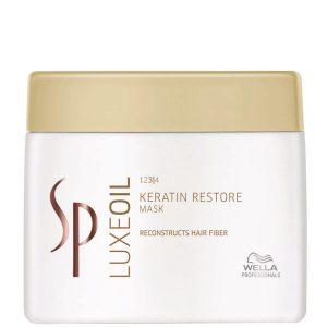 Mặt nạ SP Luxe oil keratin phục hồi tóc hư 400ml