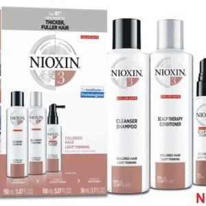 BỘ DẦU GỘI NIOXIN TRIALKIT CHỐNG RỤNG TÓC ( HỆ THỐNG 3)