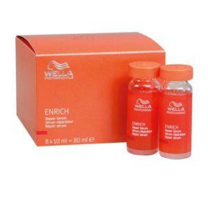 Tinh chất wella enrich phục hồi tóc hư (8 X 10ml)