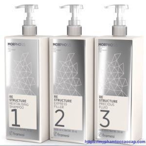 Bộ phục hồi tóc framesi morphosis 1000ml x 3