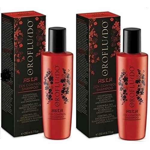 Bộ gội xả Orofluido Asia zen Control phục hồi tóc hư tổn 200ml