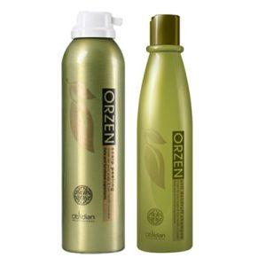 Bộ sản phẩm đặc trị gàu vảy nến Orzen