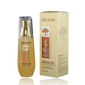 Tinh dầu Argan Colatin cho tóc khô hư tổn 40ml